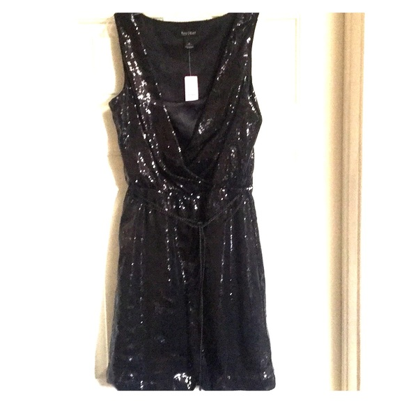 White House Black Market Dresses Black Sequin Dress W Tag Poshmark